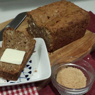 Vegan Coconut Zucchini Bread