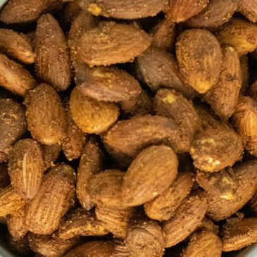 Savory Roasted Almonds