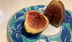 Figs on Plate